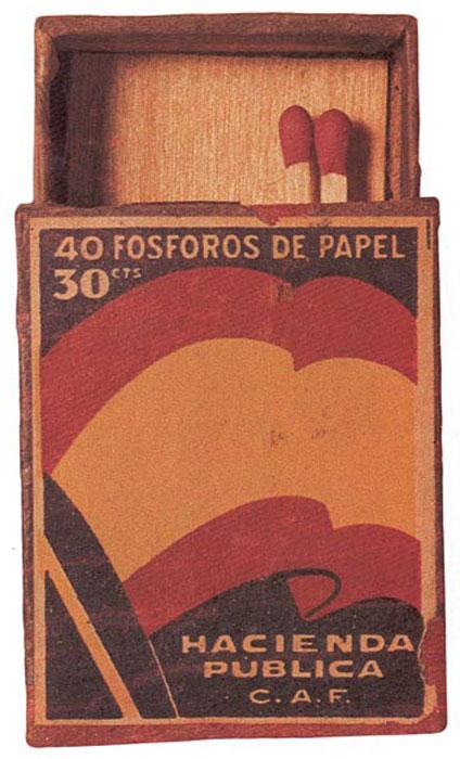 La auténtica cerilla española de 1940, Año 1 de la Victoria.