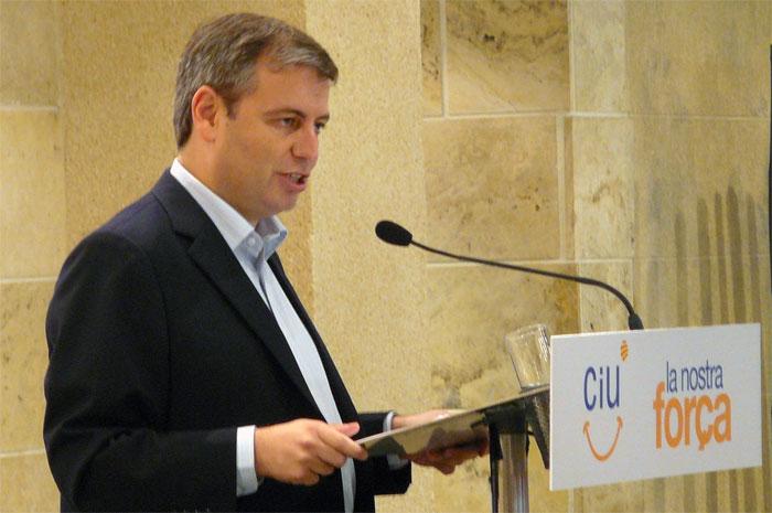 Jordi Xuclà tenía seny, o eso decían, pero parece haberlo perdido tras el órdago de Mas. Foto: CiU