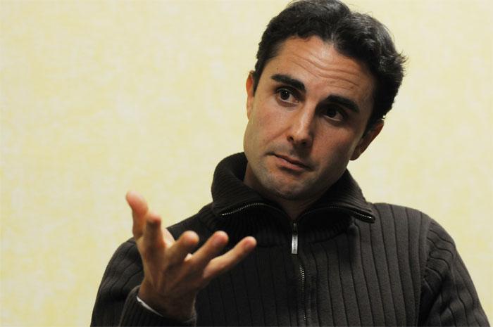 Herve Falciani, cuya lista de cuentas opacas en Suiza ha revolucionado la lucha contra la evasión de capitales y la corrupción. Foto: TV.